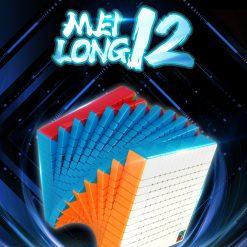 stickerless Zauberwürfel Speedcube Magic Cube Mag... 5x5 MoYu Meilong Set 4x4